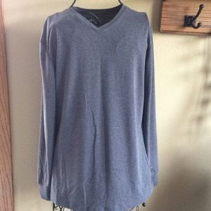 Cuddl Duds top gray long sleeve Size Large